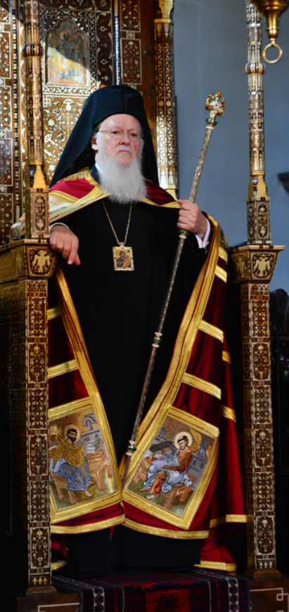 His All Holiness Bartholomew I - 270th Archbishop of Constantinople, New Rome, and Ecumenical Patriarch. Pic: http://patriarchateofconstantinople.com/